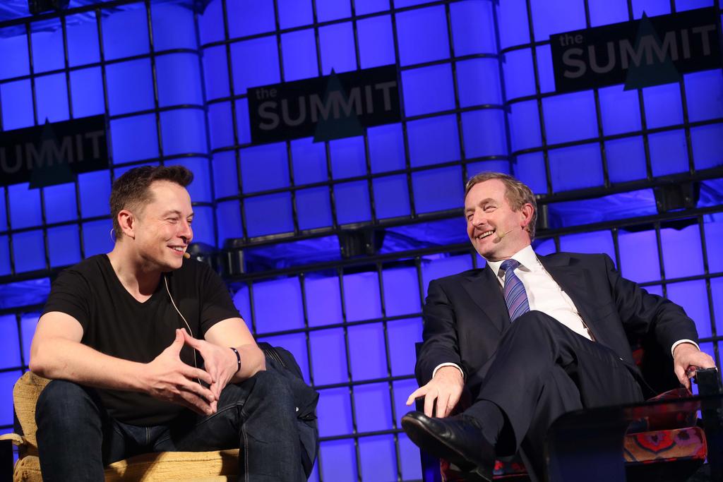 Elon Musk & Enda Kenny