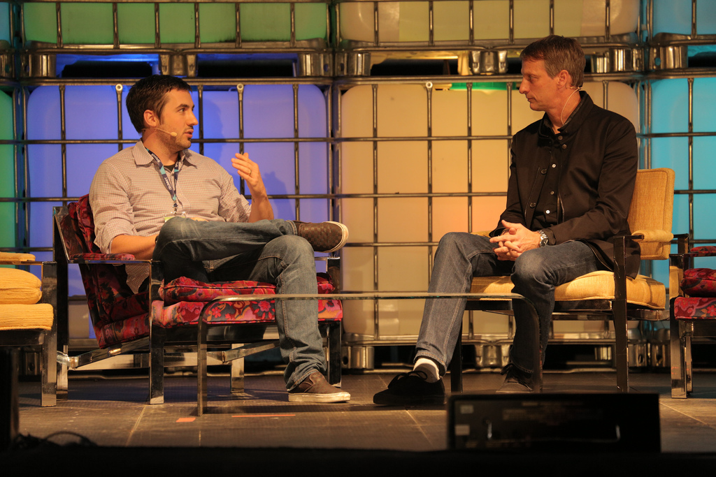 Kevin Rose & Tony Hawk