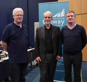 Tom Callanan from Galmac, Walter Murch & Michael Browne from Big Bear Sound