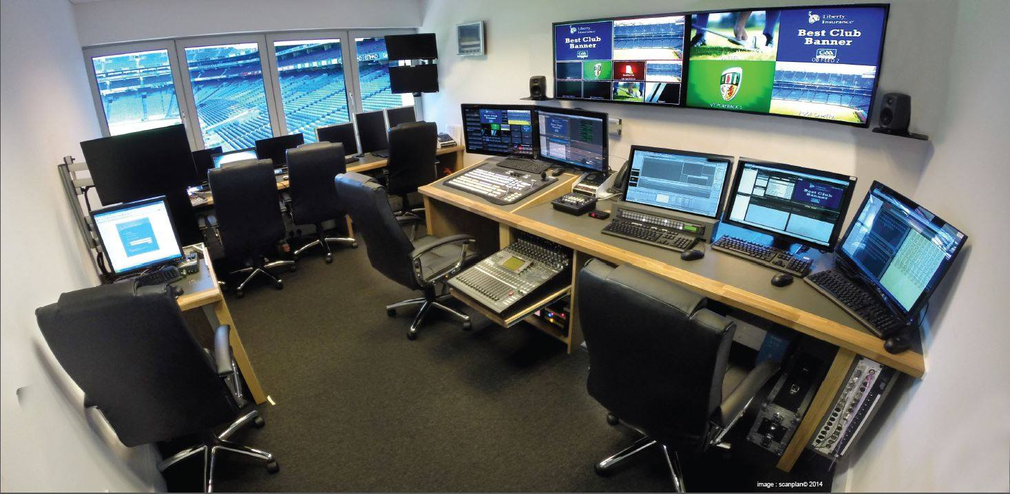 Custom consoles & installation at Croke Park Stadium