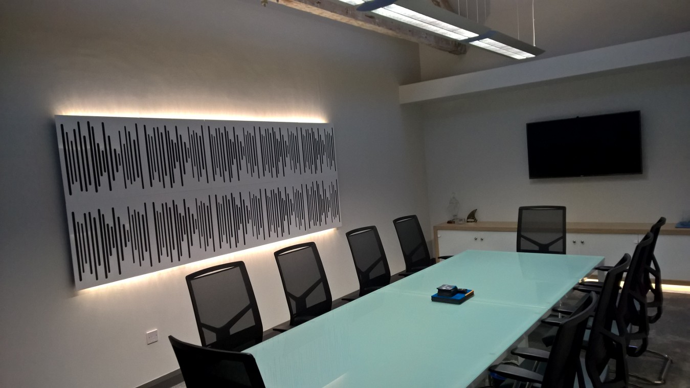 Corporate Board Room with Vicoustic Varipanels